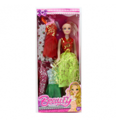 Кукла с нарядом 168-1 в коробке