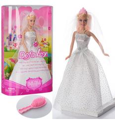Кукла DEFA 6091 невеста,в кор-ке,
