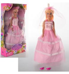 Кукла DEFA 8065 невеста,в кор-ке,