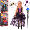 Кукла DEFA 8395-BF шарнирная , волшебная палочка , маски в коробке ф