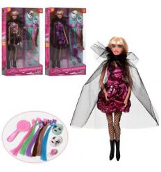 Кукла DEFA 8398-BF шарнирная, маски, в коробке,