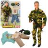Кукла с нарядом DEFA 8412 Кен, шарнирный, в слюде