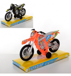 Мотоцикл XY 538 P инерционный, в слюде