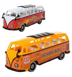 Автобус TQ 123-55-57 A инерционный, в кульке