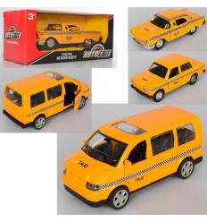 Машина AS-2309 АвтоСвіт, металл, инер-я, такси, в коробке