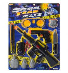 Набор полицейского 27828 на листе