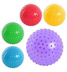 Мяч массажный MS 0022 (800шт) 4 дюйма, 5 цветов, 25г