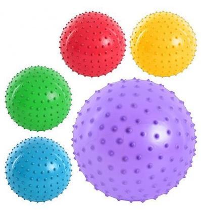 Мяч массажный MS 0023 (250шт) 8 дюймов, ПВХ, 90г, 5 цветов