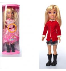 Кукла KT2200A/D ростовая, музыка, на батарейках, в колбе