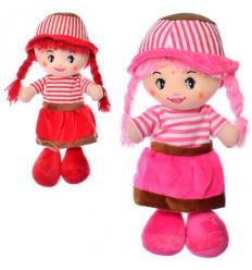Кукла X15980 мягконабивная, в кульке