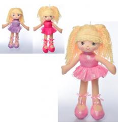 Кукла X16197 мягконабивная, балерина, в кульке