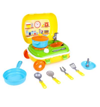 Чемодан 6078 Кухня с набором посуды ТехноК