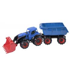 Трактор 315-315 Texas, Погрузчик с прицепом