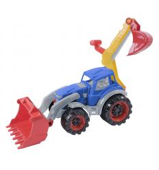 Трактор 322-322 Texas, Погрузчик экскаватор