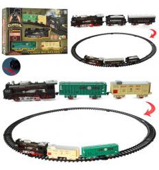Железная дорога 19058-1-2 на батарейках, в коробке