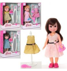Кукла 88015-16 зеркало/наряд, в коробке