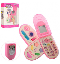 Косметика 30033-21 Телефон, 3 яруса, в коробке
