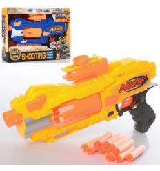 Пистолет JBY-004 Бластер, на батарейках, в коробке