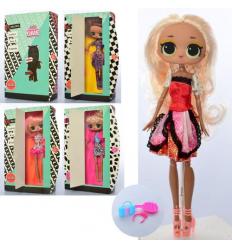 Кукла XM1097 шарнирная, аксессуары, в коробке
