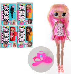 Кукла XM1907-2 шарнирная, в коробке