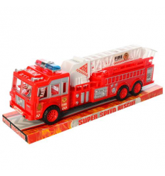 Пожарная машина 109A инерционная, в слюде