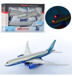 Самолет 987-2 разборной, на батарейке, в коробке