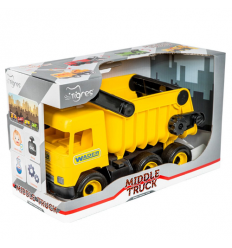 "Машина 39490 ""Тигрес"" ""Middle truck"" самосвал, желтый"