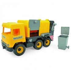 "Машина 39492 ""Тигрес"" ""Middle truck"" мусоровоз, желтый"
