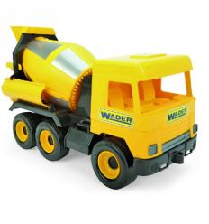 """Машина 39493 """"Тигрес"""" """"Middle truck"""" бетономешалка, желтый"""