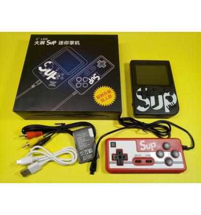 Игровая приставка с джойстиком Денди, Retro SUP Game Box 400 игр в 1