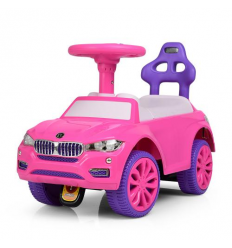 Каталка-толокар 7661-8 (1шт/ящ) на батарейках, розовый
