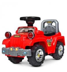 Каталка-толокар HZ 553-3 (1шт/ящ) джип, красный
