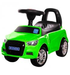 Каталка-толокар M 3147A(MP3)-5 (1шт/ящ) BAMBI, зеленый