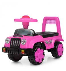 Каталка-толокар Q11-1-8 (1шт/ящ) BAMBI, розовый