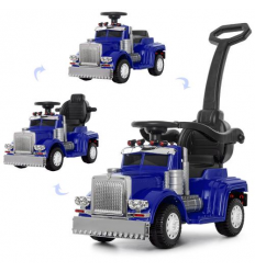 Машина M 4110-4 (1шт/ящ) BAMBI, 2в1 (каталка-толокар), синий