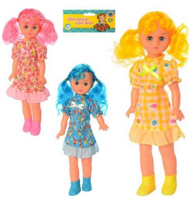 Кукла 16063 BV звук, в кульке