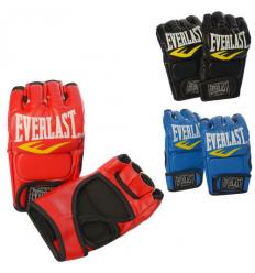 Боксерские перчатки MS 2117 на липучке, в кульке