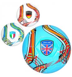 Мяч футбольный EV 3282 размер 5, страны, в кульке