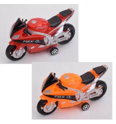 Мотоцикл 968-1-2 инерционный, в кульке