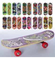 Скейт MS 0324-4 PROFI, 43-13 см
