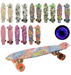 Скейт MS 0748-8 PROFI, пенни, 55-14,5 см