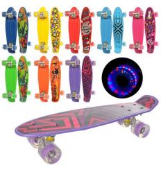 Скейт MS 0749-1 PROFI, пенни 56-14,5 см