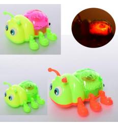 Заводная игрушка 1299 жук, на батарейках, в кульке
