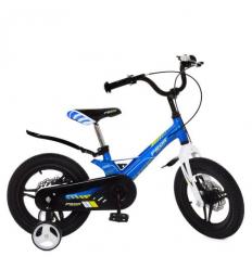 Велосипед детский PROF1 14д. LMG14231 (1шт/ящ) Hunter, голубой
