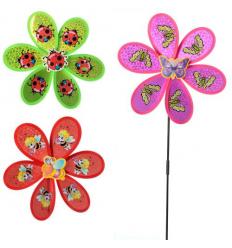 Ветрячок M 6247 цветок, диамметр 29 см, в кульке