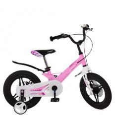Велосипед детский PROF1 14д. LMG14232 (1шт/ящ) Hunter, розовый