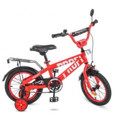 Велосипед детский PROF1 14д. T14171 (1шт/ящ) Flash, красный
