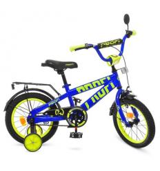 Велосипед детский PROF1 14д. T14175 (1шт/ящ) Flash, синий