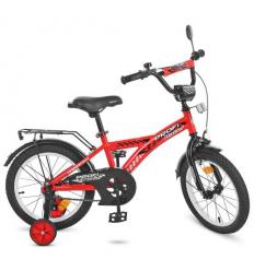 Велосипед детский PROF1 14д. T1431 (1шт/ящ) Racer, красный