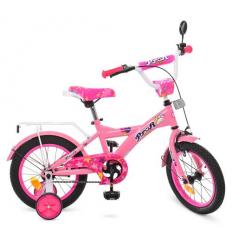 Велосипед детский PROF1 14д. T1461 (1шт/ящ) Original girl, розовый